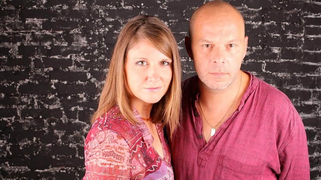 Portrait photo de Nathalie Hug et Jérôme Camut