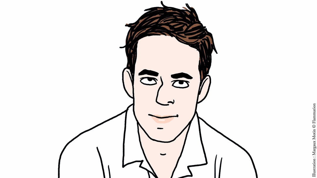 Portrait dessiné de Thomas Raphaël