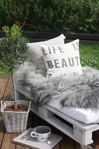 Bain De Soleil Palette 11 idées de mobilier de jardin en palettes