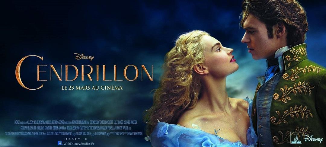 Affiche du film Cendrillon des Studios Disney
