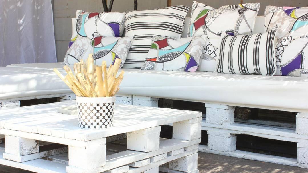 11 idées de mobilier de jardin en palettes